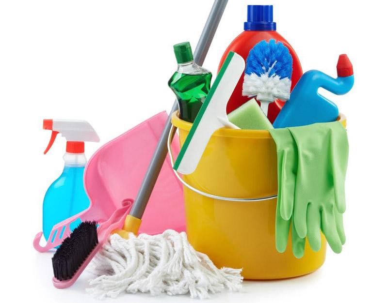 Инвентарь для уборки после ремонта