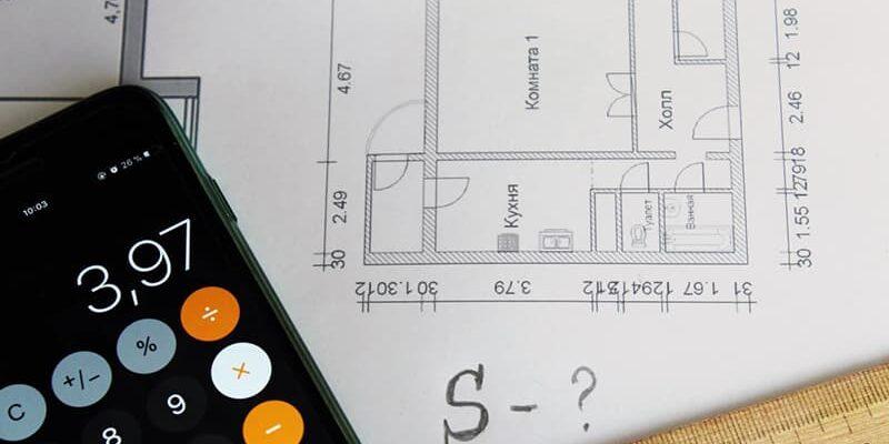Как посчитать площадь комнаты