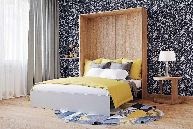 Ліжко-трансформер для спальні
