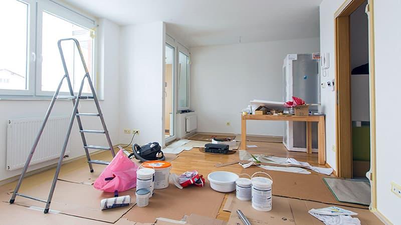 Квартира после ремонта - уборка помещений