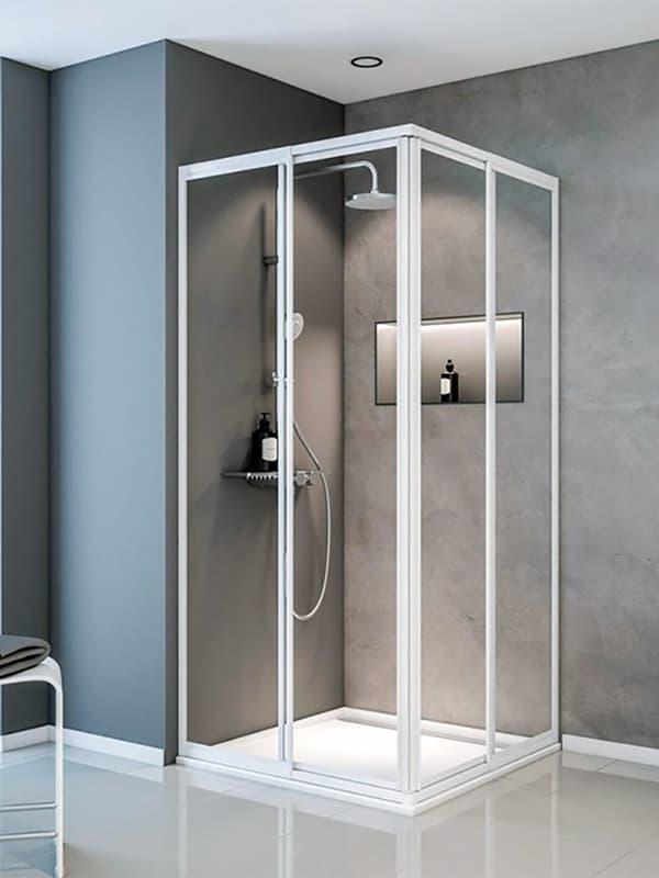 Приклад кутової душової кабіни
