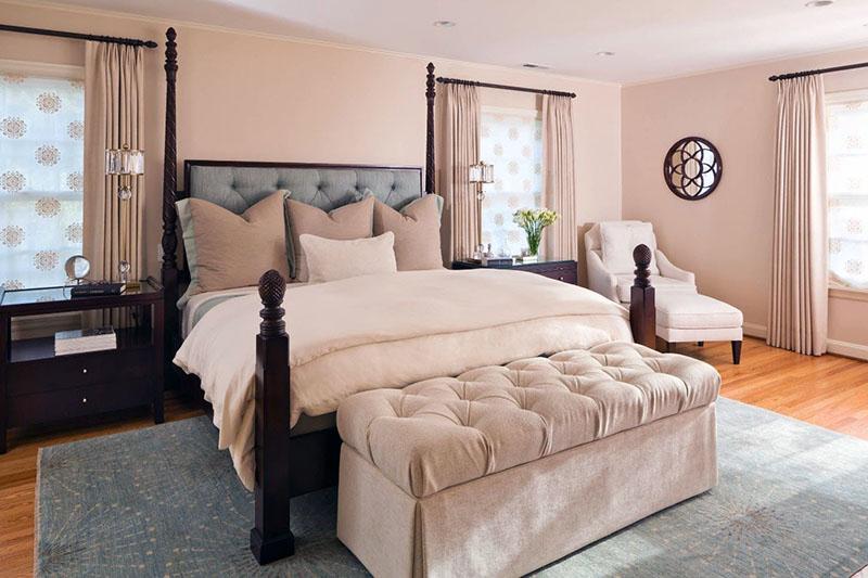 Рамкове ліжко для спальні