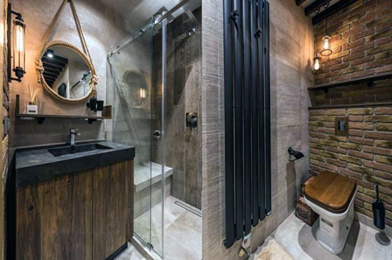 Реальний дизайн ванної кімнати