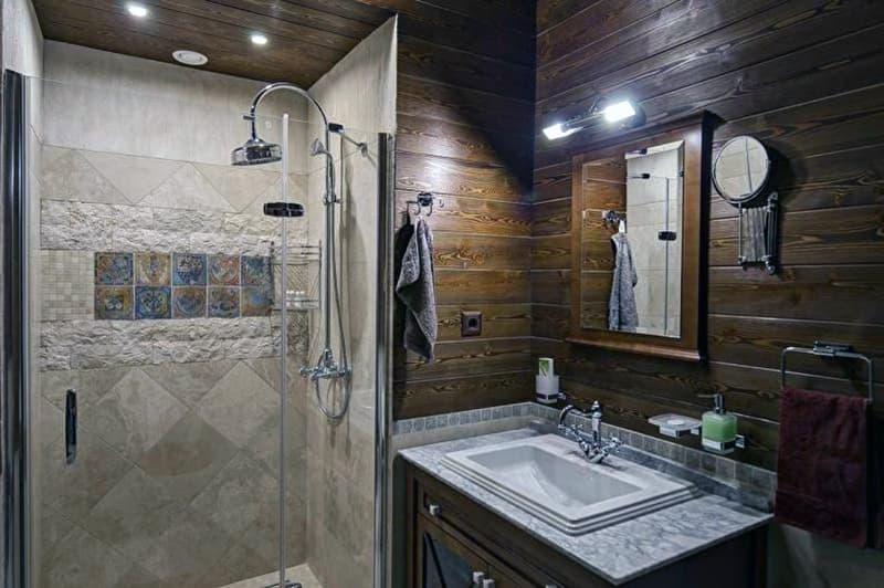 Ванна кімната в стилі кантрі