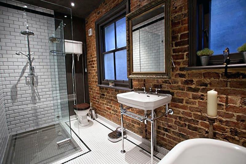 Ванна кімната в стилі лофт