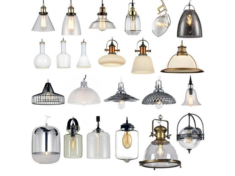 Лампи для приміщень в стилі лофт і мінімалізм