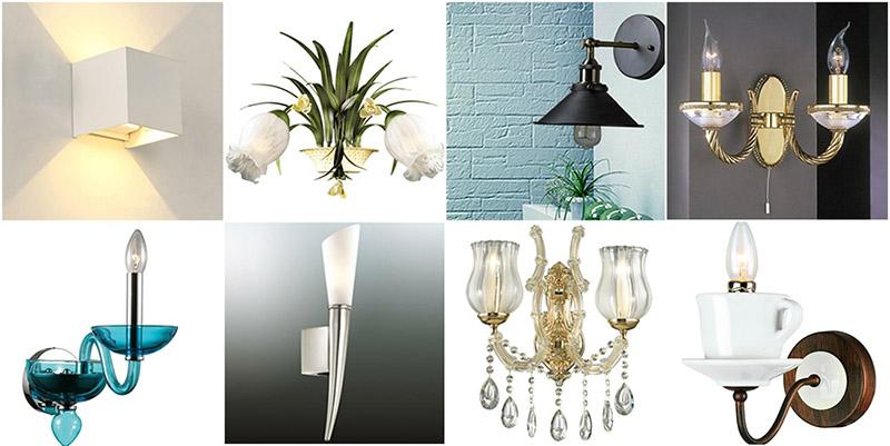 Вибір лампи за кольором і матеріалом